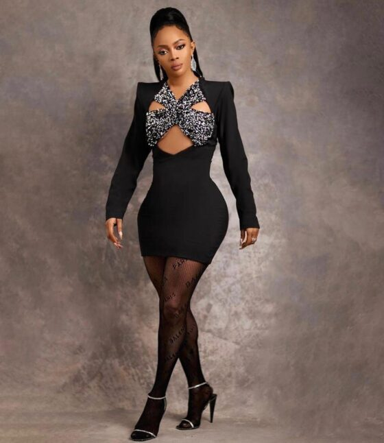 BBNaija: Nine Times Toke Makinwa Looked Elegant On The